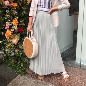 Pleated Maxi Skirt Size XS